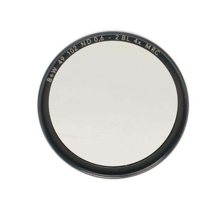 B+W 49mm Neutral Density 102 ND 4X MRC F-Pro Filter