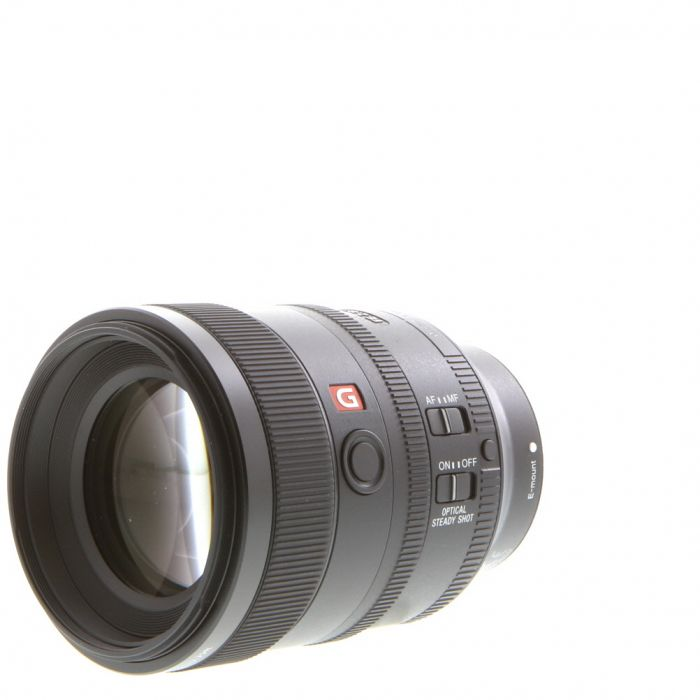 Sony FE 100mm f/2.8 STF GM OSS E Mount Autofocus Lens, Black (SEL100F28GM) {72}