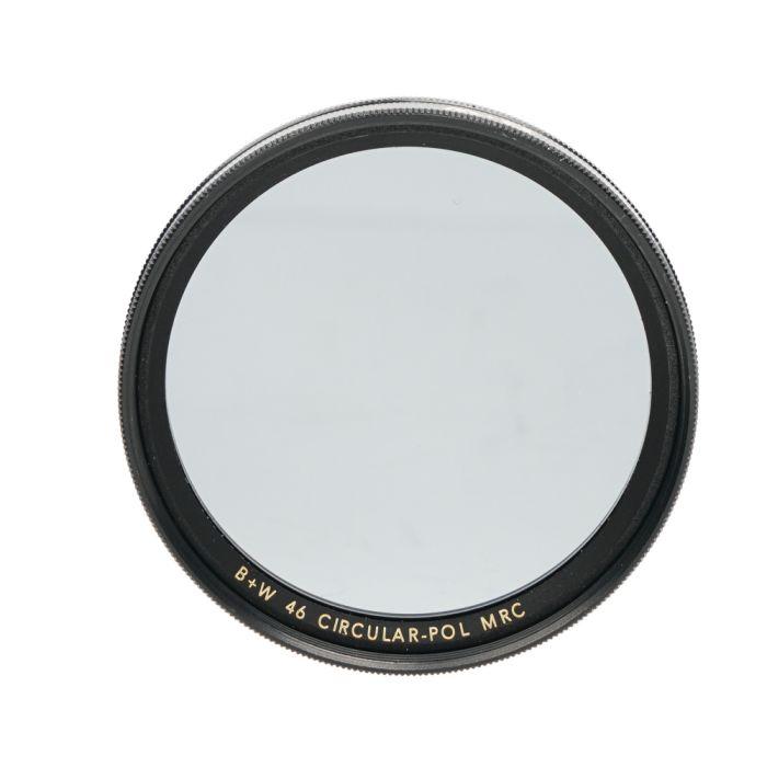 B+W 46mm Circular Polarizing MRC F-Pro Filter