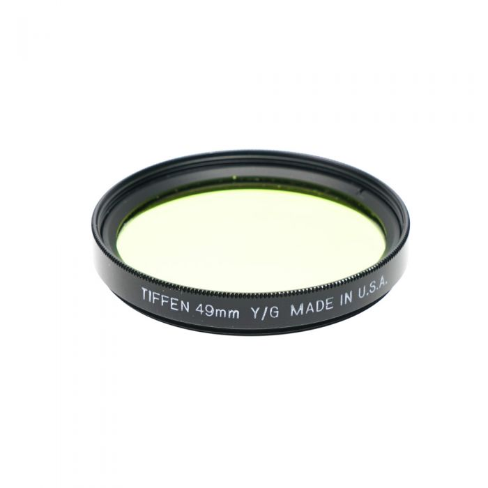 Tiffen 49mm Y/G (Yellow/Green) Filter