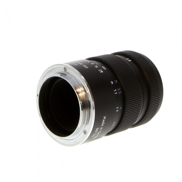 Meyer-Optik Gorlitz 100mm F/2.8 Trioplan Black Manual Focus, Manual Aperture Lens For Nikon {52}