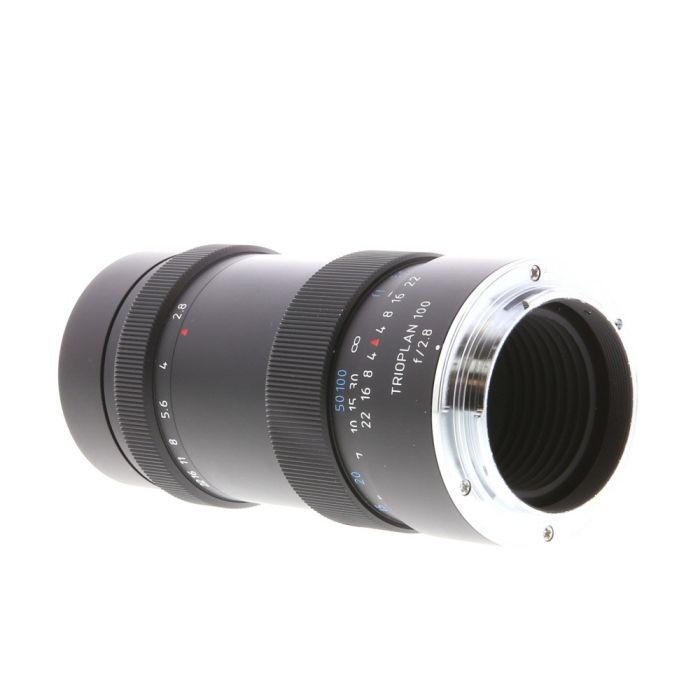 Meyer-Optik Gorlitz 100mm F/2.8 Trioplan Black Manual Focus, Manual Aperture Lens For Sony E Mount {52}