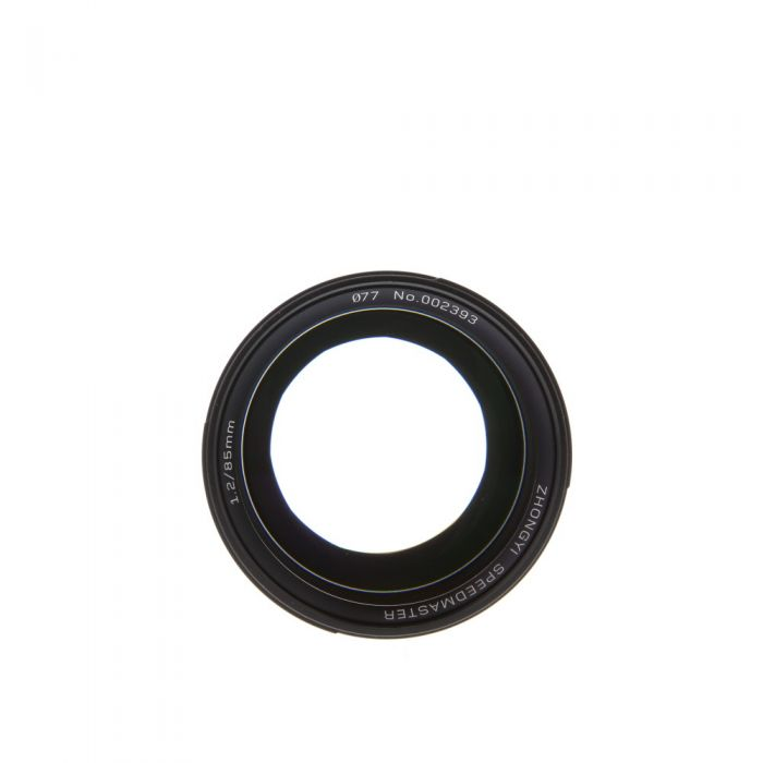 Mitakon Zhongyi Speedmaster 85mm F/1.2 Manual Focus, Manual Aperture Lens for Sony E-Mount {77}