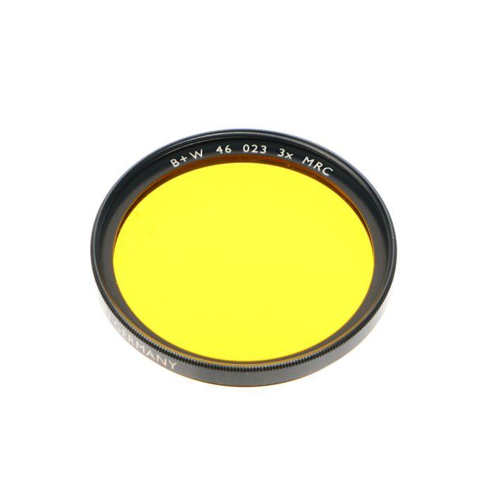 B+W 46mm Yellow Dark 023 F-Pro MRC Filter
