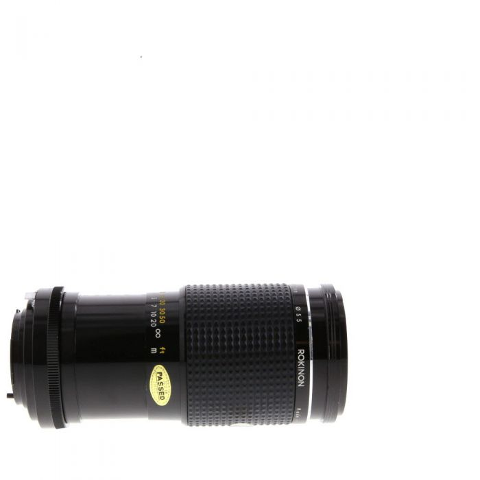 Miscellaneous Brand 75-200mm F/4 Macro Manual Focus Lens For Minolta MD Mount {55}