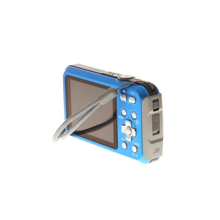 Panasonic Lumix DMC-TS30 Blue Waterproof Underwater Digital Camera {16.1 M/P}