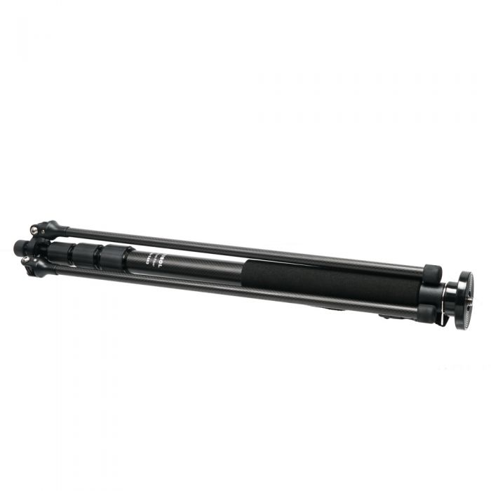 FEISOL CM-1443 Rapid Carbon Fiber Monopod with Three-Leg Base, 4-Section, 22.4-81.1\