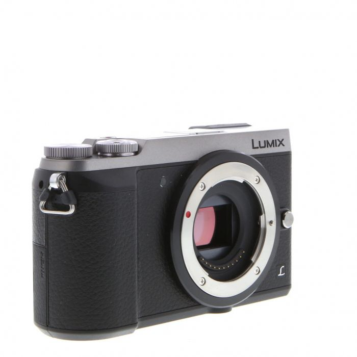 Panasonic Lumix DMC-GX85 Mirrorless Micro Four Thirds Digital Camera Body, Silver {16 M/P}
