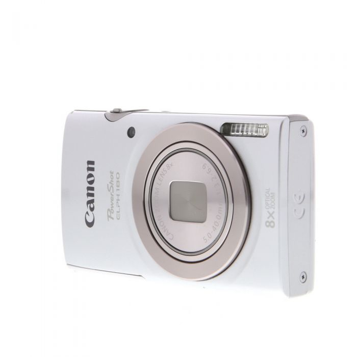 Canon Powershot ELPH 180 Digital Camera, Silver {20 M/P}