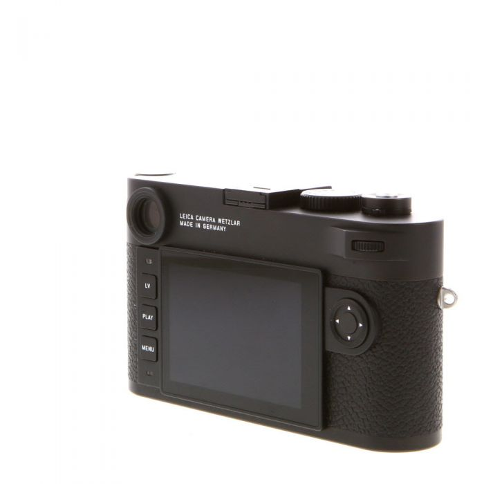 Leica M10 Digital Camera Body, Black Chrome Finish {24MP}