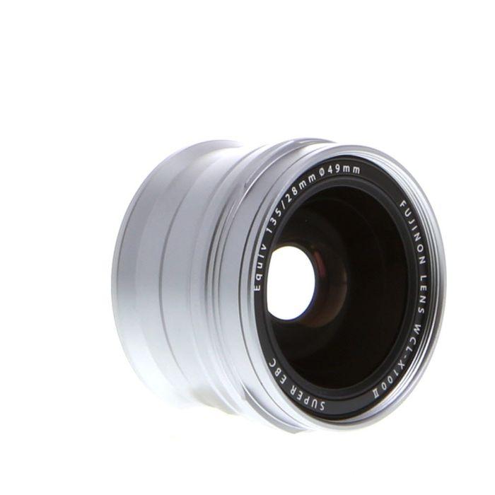 Fujifilm WCL-X100 II Wide Converter Silver (for X100F)