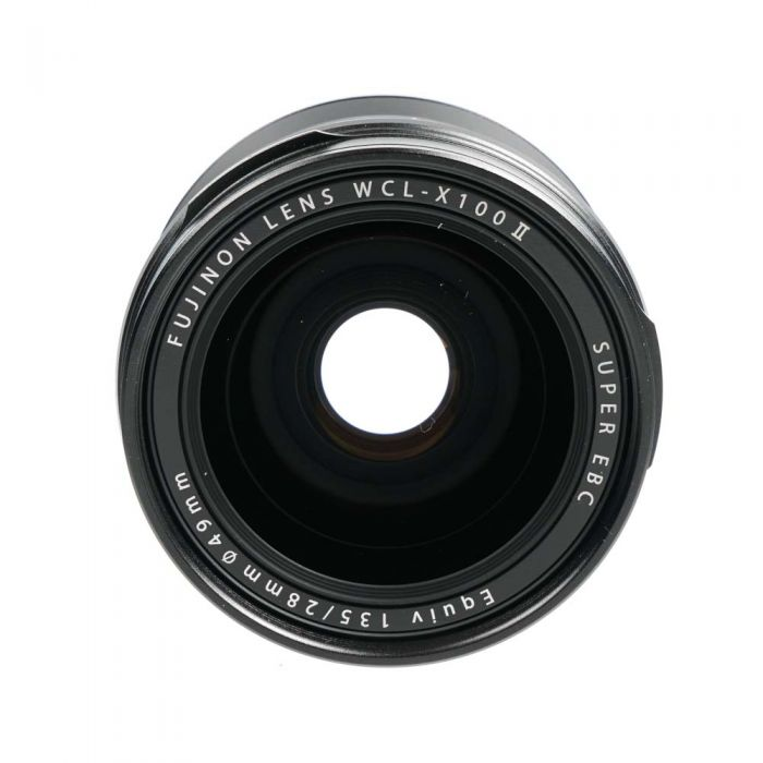 Fujifilm WCL-X100 II Wide Converter Black (for X100F)