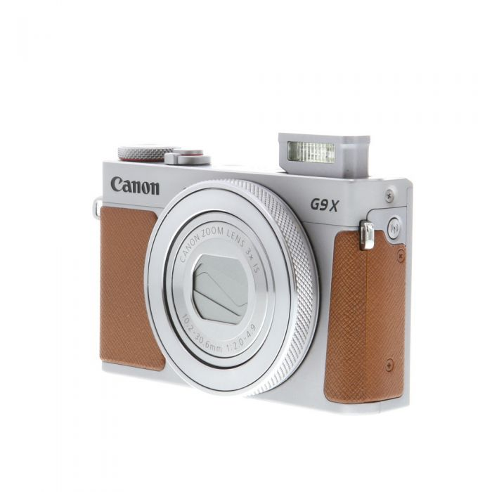 Canon Powershot G9X Mark II Silver Digital Camera {20.1MP}