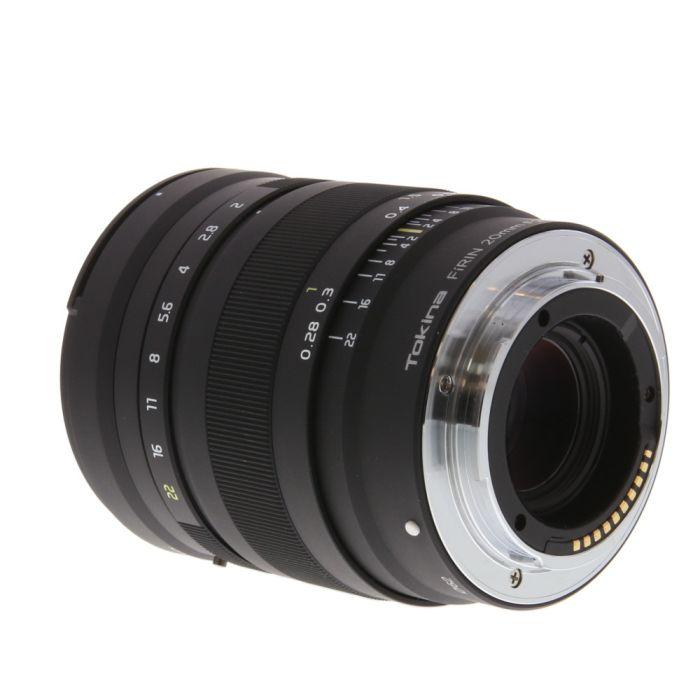 Tokina FiRIN 20mm f/2 FE MF Full Frame Lens for Sony E-Mount {62}