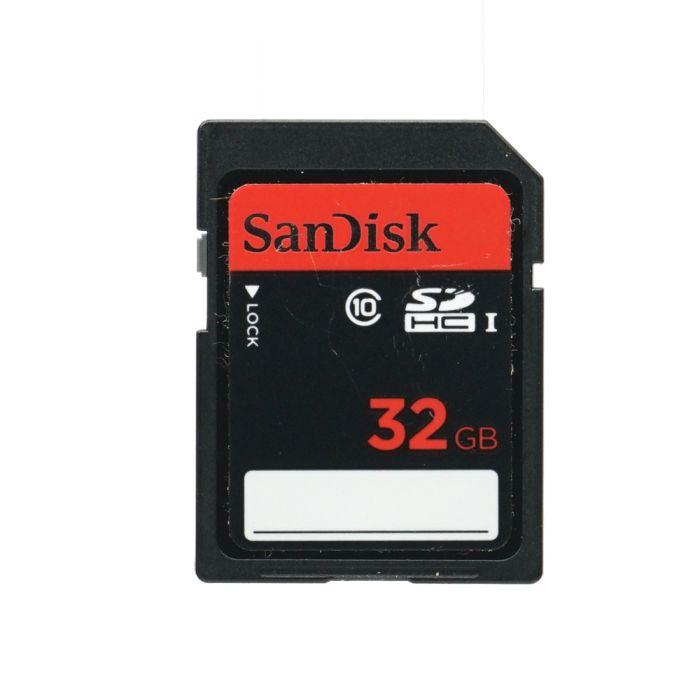 Sandisk 32GB Class 10 SDHC I Memory Card