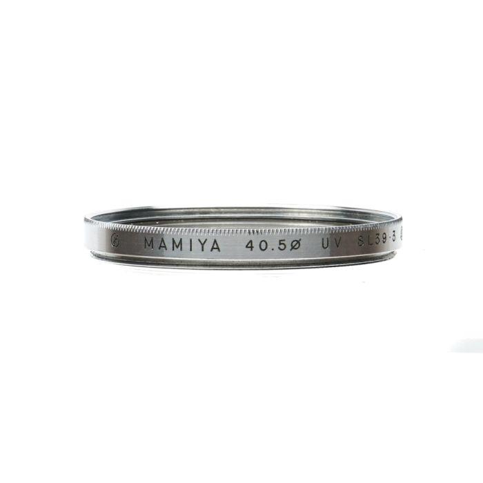 Mamiya 40.5mm UV SL39 Chrome Filter