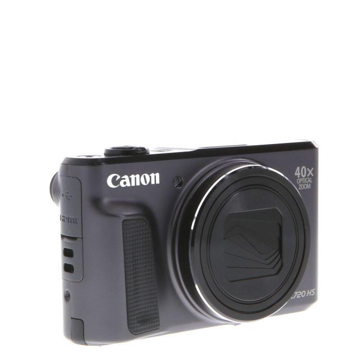 Canon Powershot SX720 HS Digital Camera, Black {20.3MP}