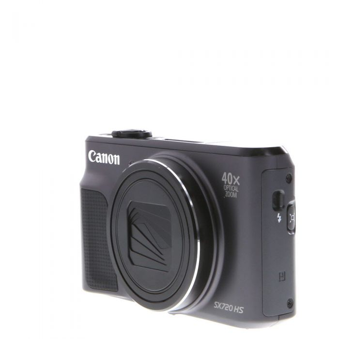 Canon Powershot SX720 HS Digital Camera, Black {20.3 M/P}