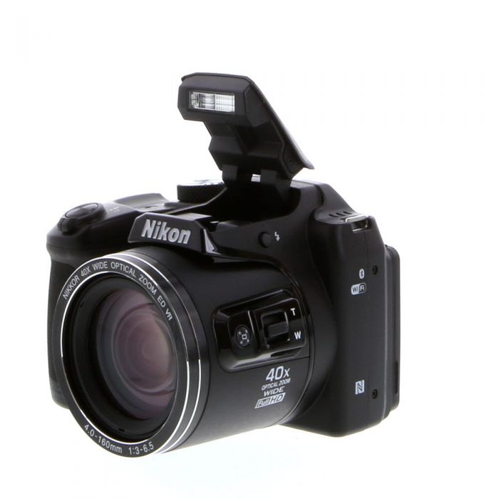 Nikon Coolpix B500 Digital Camera, Black {16MP} Requires 4/AA