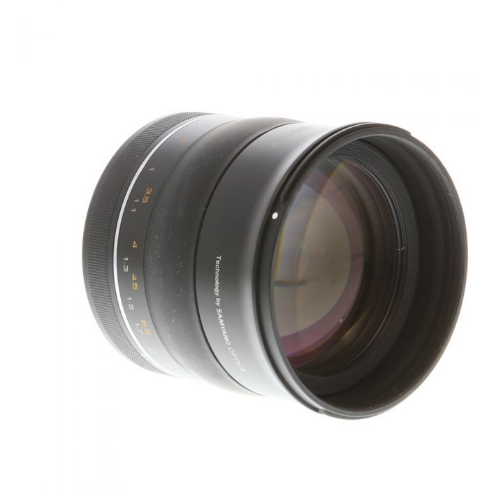 Rokinon 85mm f/1.2 (SP) Manual Lens for Canon EF-Mount {86}
