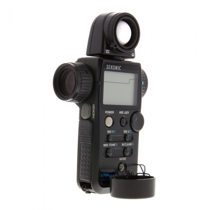 Sekonic L-758 Cine-U Digitalmaster (Ambient/Flash) Light Meter