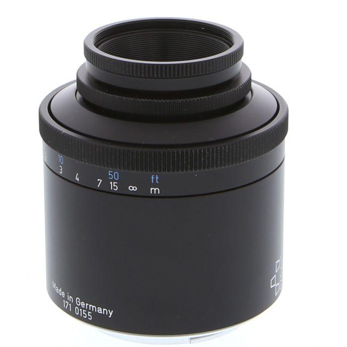 Meyer-Optik Gorlitz 50mm F/2.9 Trioplan Black Manual Focus, Manual Aperture Lens For Sony E Mount {35.5}