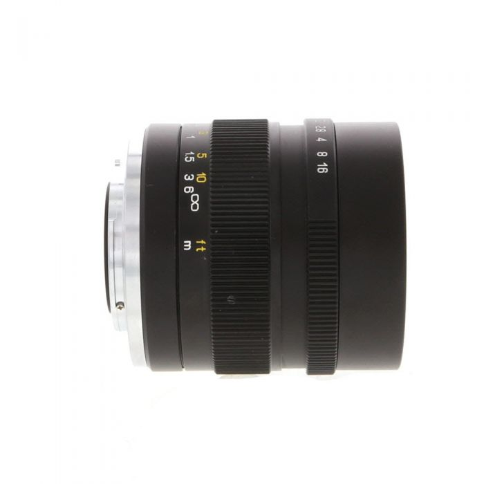Mitakon Zhongyi 35mm f/0.95 Speedmaster (Mark II) Manual Lens for Fujifilm X-Mount Mirrorless, Black {55}