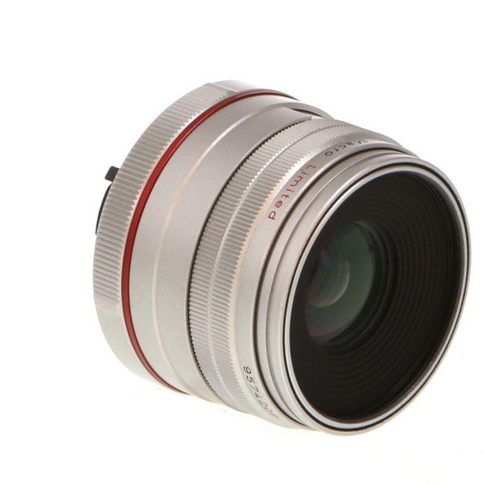 Pentax 35mm F/2.8 HD Macro DA Limited Silver K Mount Autofocus Lens For APS-C Sensor DSLRS {49}