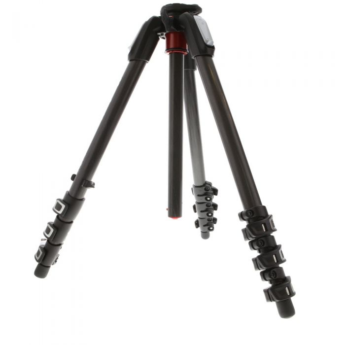 Manfrotto MT055CXPRO4 Carbon Fiber Tripod Legs, Black