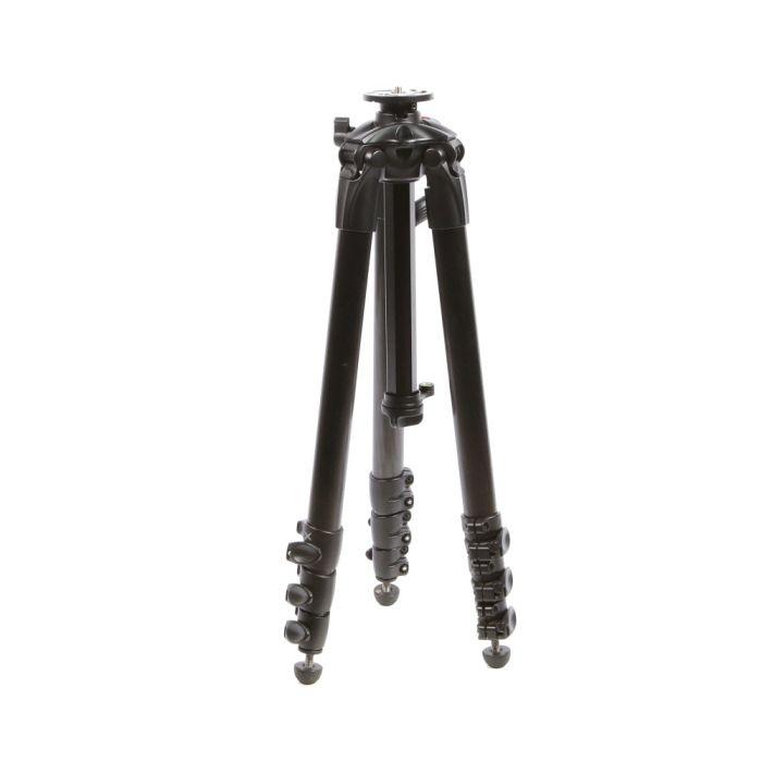 Manfrotto MT057C4-G 057 Carbon Fiber Tripod Legs With Geared Column, Black