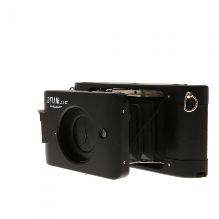 Lomography Belair X 6x12 City Slicker, Black, Medium Format Camera With 58mm F/8 & 90mm F/8 Lenses with 58mm and 90mm Viewfinders (hp200b)