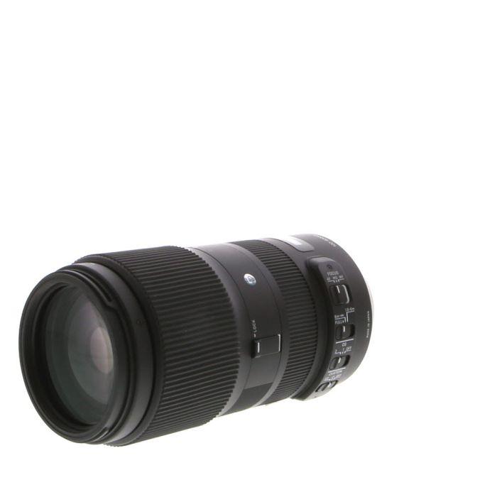 Sigma 100-400mm F/5-6.3 DG HSM OS (Contemporary) C Lens For Nikon {67}