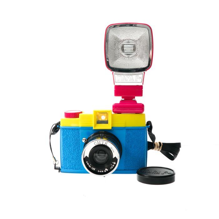 Lomography Diana F+ CMYK Camera With Diana Flash