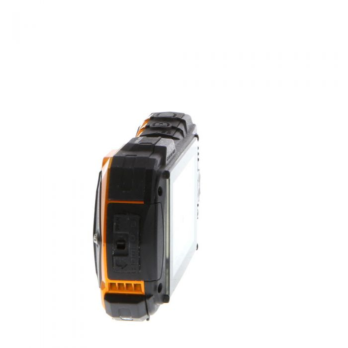 Ricoh WG-30(W) Wireless Digital Camera, Flame Orange {16.2MP}