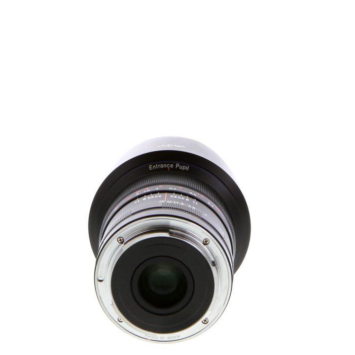 Venus Optics Laowa 12mm F/2.8 (Zero-D) D-Dreamer (Manual Focus, Manual Aperture) Black Lens For Canon EF Mount