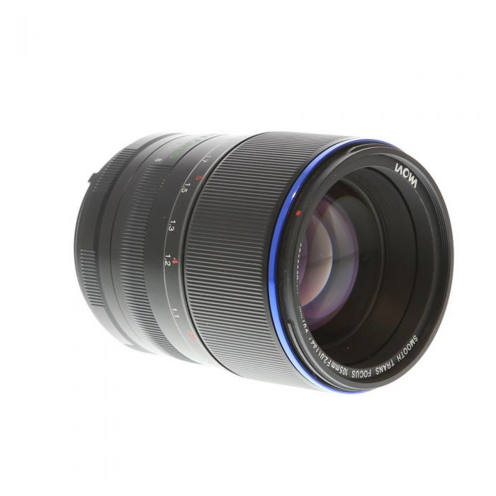 Venus Optics Laowa 105mm f/2 Smooth Trans Focus Manual Focus, Manual Aperture Lens for Nikon F, Black {67}