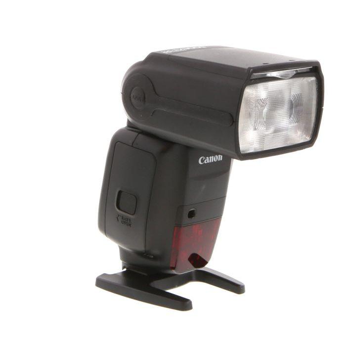 Canon 600 EX II-RT Flash (Water Resistant) Speedlite [GN197] {Bounce, Swivel, Zoom}