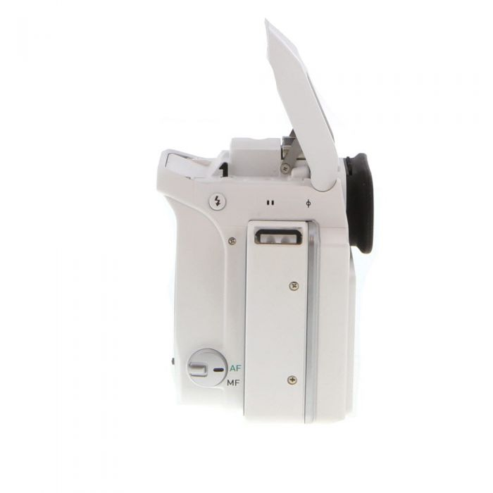Pentax K-S1 Digital SLR Camera Body, White {20MP}