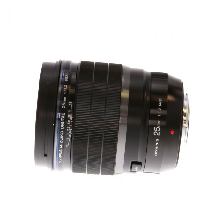 Olympus 25mm F/1.2 M.Zuiko Pro Black Autofocus Lens For Micro Four Thirds System {62}