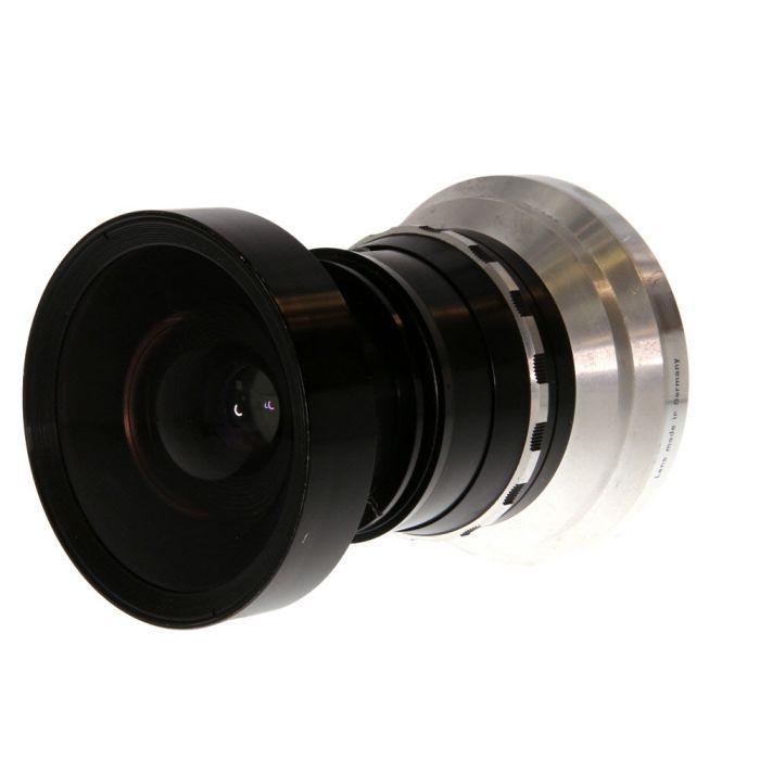 Schneider 165mm f/8 Super Angulon Linhof Technika Built-In Synchro-Compur BT (65 MT) 8X10 Lens