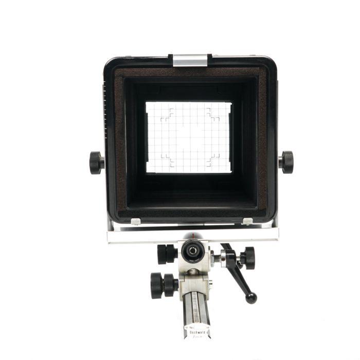 Arca Swiss 4X5 Basic B (Base Tilt) (Uses 171mm Board) View Camera Body