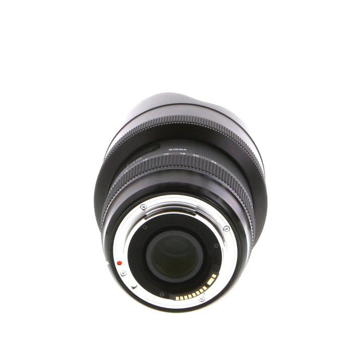 Sigma 12-24mm F/4 DG (HSM) A (Art) Lens For Canon EF Mount