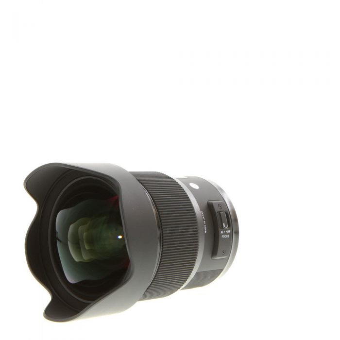 Sigma 20mm f/1.4 DG (HSM) A (Art) Lens for Nikon