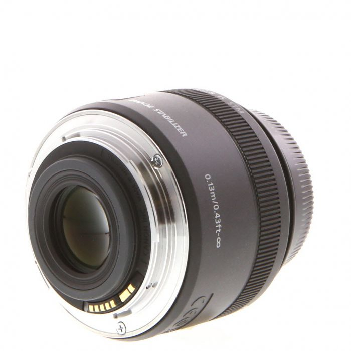Canon EF-S 35mm f/2.8 Macro IS STM Autofocus Lens for APS-C DSLR {49}