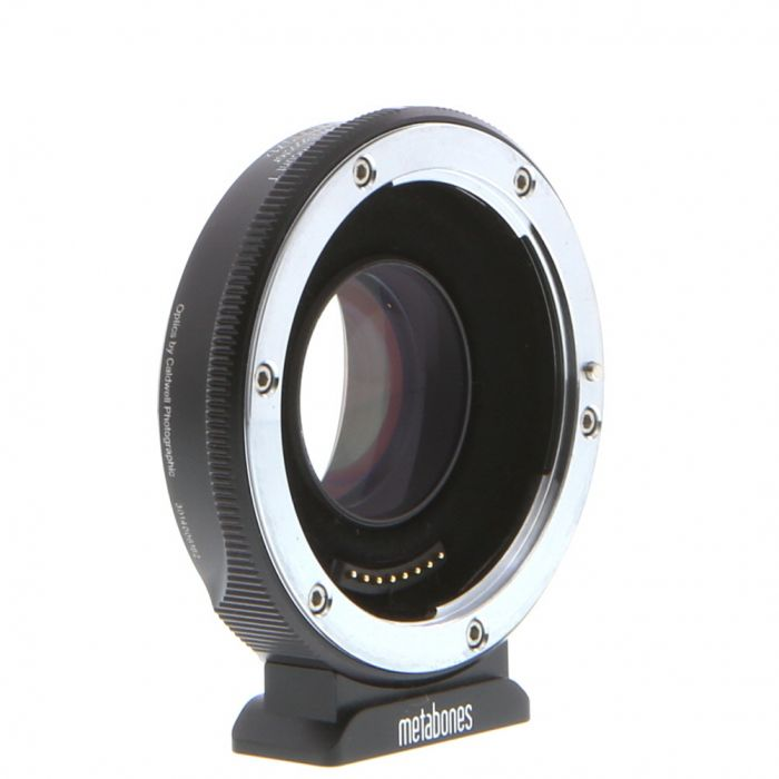Metabones T (II) ULTRA Speed Booster 0.71x Adapter Canon EF-Mount Lens to MFT Micro Four Thirds Body (MB_SPEF-M43-BT4 II) with Tripod Foot
