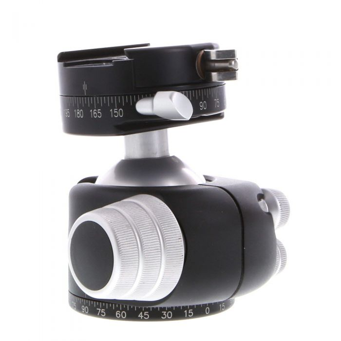 Really Right Stuff BH-55 PCLR Ball Tripod Head with Lever Release Panning Clamp (Requires Quick Release Plate)