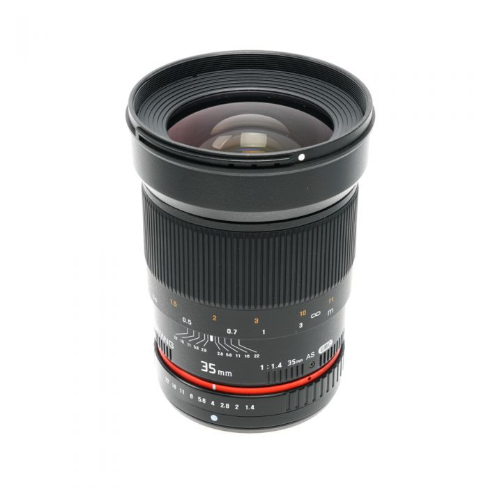 Samyang 35mm f/1.4 AS UMC Manual Focus, Manual Aperture Lens for Four Thirds System {77}