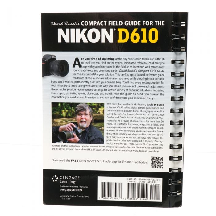 D610 Compact Field Guide, Busch, 2015, Soft Cover, 203 Pages