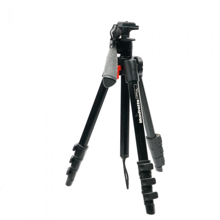 Manfrotto 718SHB Digi Tripod With Integrated 3-Way Head, 4-Section 16-48.5\