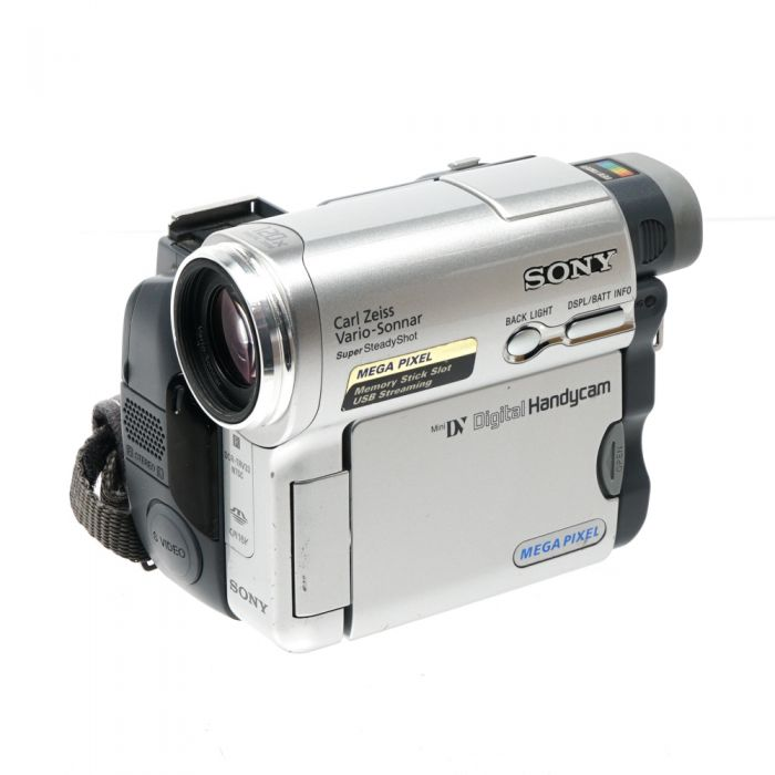 Sony DCR-TRV33 MiniDV NTSC Digital Handycam Video Camera Silver